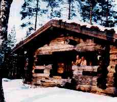 Old Finnish Sauna